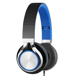 Headphones for Kids, Backever Hi-Fi Stereo Lightweight Wired