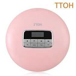 HOTT CD511 Portable CD Player With Anti-Skip Protection Shoc