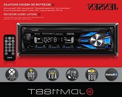 JENSEN JDM118BT Multimedia High Definition 7 Character LCD S