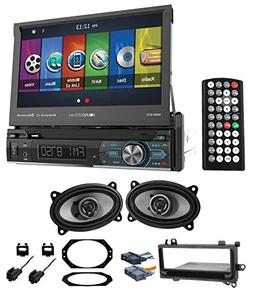 97-02 JEEP WRANGLER TJ Car Navigation GPS DVD/CD Player+Fron