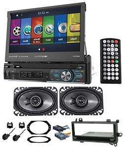 97-02 JEEP WRANGLER TJ Car Navigation GPS DVD Player+Kicker