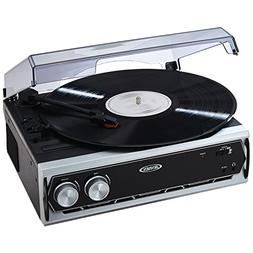 Jensen JTA-232 3 Speed Stereo Turntable with Built in Speake