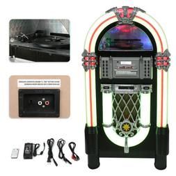 Jukebox Retro Vintage CD Player Machine 1950s Bluetooth 7 LE