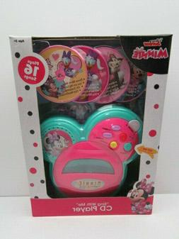 """Disney Junior Minnie Mouse  """"Sing with Me"""" Pretend CD Player"""