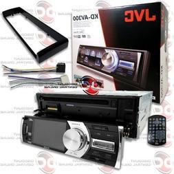 "JVC KD-AV300 Car Single-Din 1DIN 3 "" LCD DVD CD Player with"