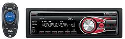 JVC KDR-330Single-Din Car Stereo with Dual Aux Inputs/3-Band