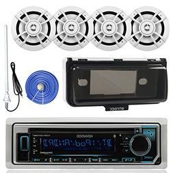 Kenwood KMRD368BT Marine Boat Audio Bluetooth CD Player Rece