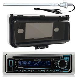 New Kenwood Marine Boat Yacht Outdoor In Dash Bluetooth MP3
