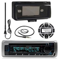 Kenwood MP3/USB/AUX Marine Boat Stereo Receiver CD Player Bu