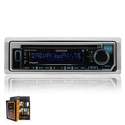 kenwood KMRD365BT Marine CD Single DIN in-Dash Bluetooth Car