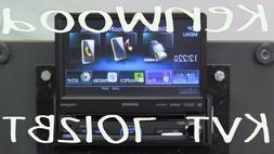 """Kenwood KVT7012BT 7.0"""" WVGA 1-DIN DVD Receiver"""
