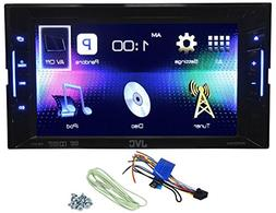 JVC KW-V11 Double Din Car DVD/iPhone/Pandora Radio Player Re