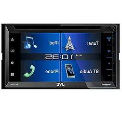 """JVC KW-V330BT in-Dash DVD Receiver 6.8"""" Double DIN Bluetooth"""