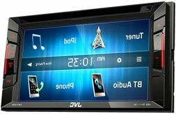 "2018 NEW JVC DOUBLE DIN 6.2"" CAR TOUCHSCREEN DVD CD BLUETOOT"