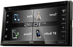 JVC KW-V340BT 6.2-inch Bluetooth DVD/CD/USB WVGA Receiver wi