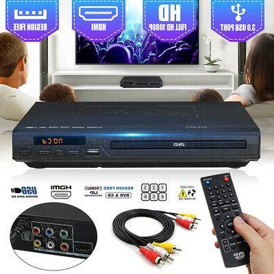 1080p dvd cd player usb multi region