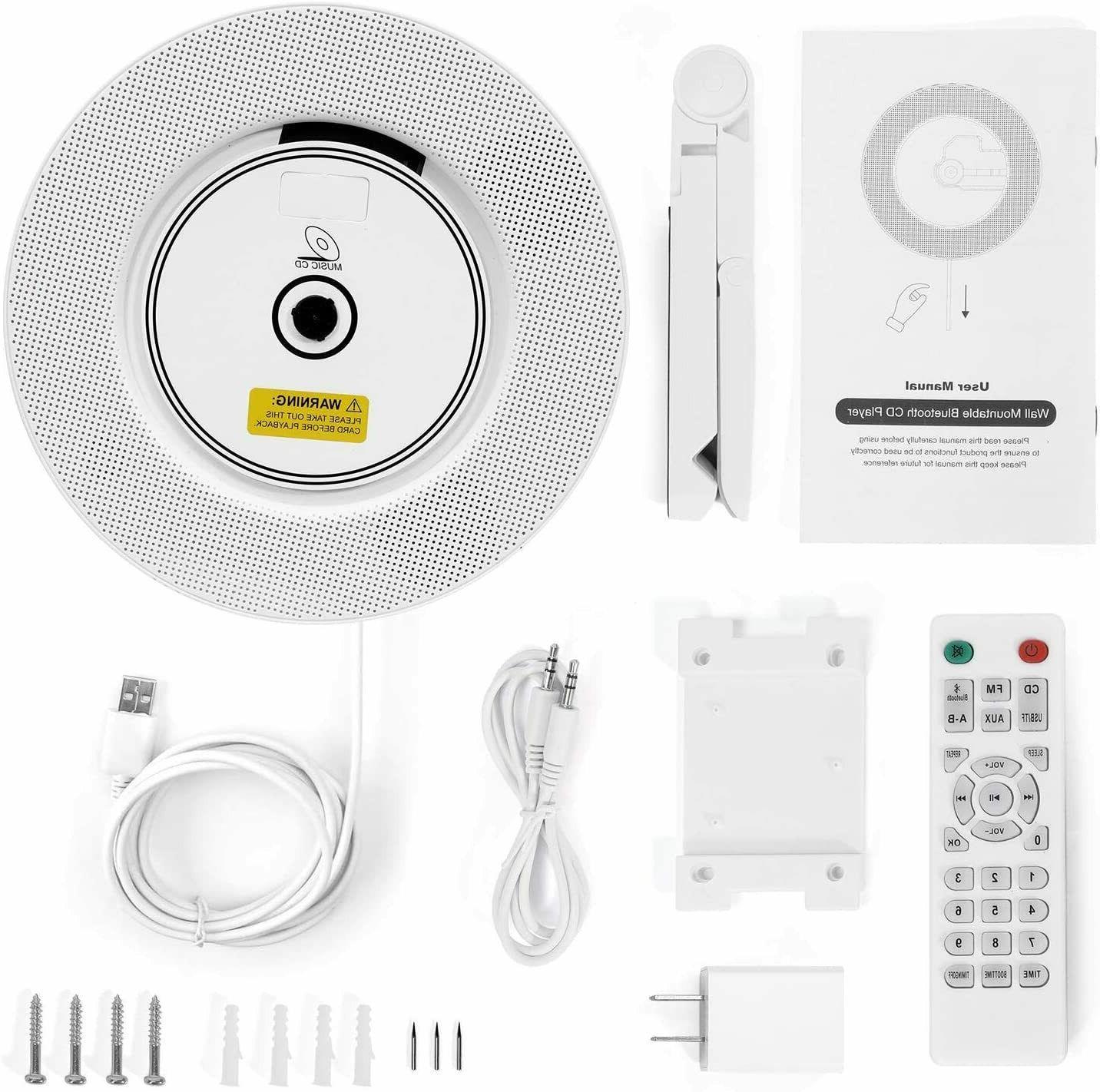 2020 Bluetooth Player Wall Home Audio MP3 Radio Speaker