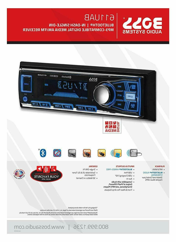 BOSS Audio Car Player, Radio