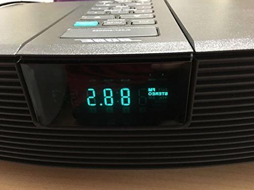 Bose Wave AM/FM Clock Radio - Model AWR1G1 - Graphite