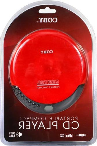 Coby Portable Compact CD Player