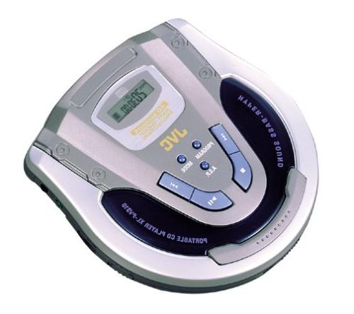 JVC-XL-PV310 Personal CD Player with Car Kit and 40 seconds