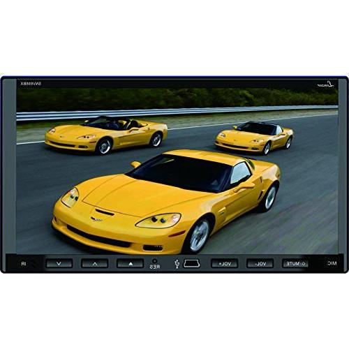 Lanzar SDN698BX 7-Inch Video Headunit Receiver Bluetooth Wir