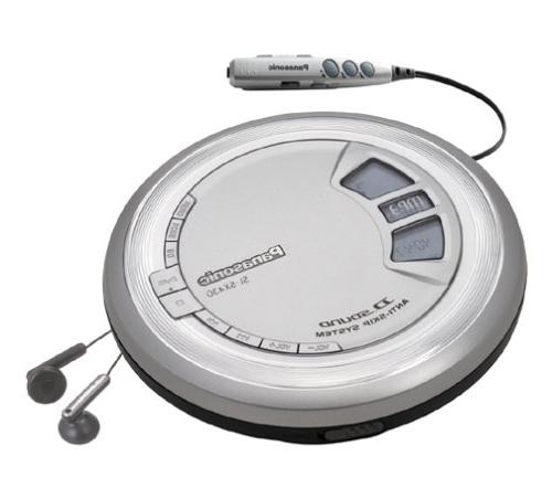 Panasonic SL-SX430 Portable CD/MP3 Player with D-Sound