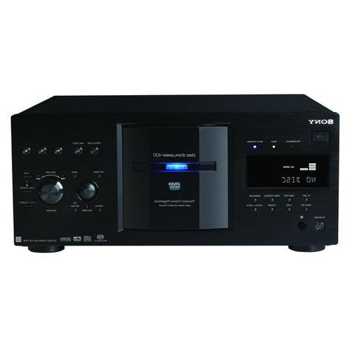 Sony DVP-DVPCX777ES/B 400 Disc DVD/SACD/CD Changer - Black