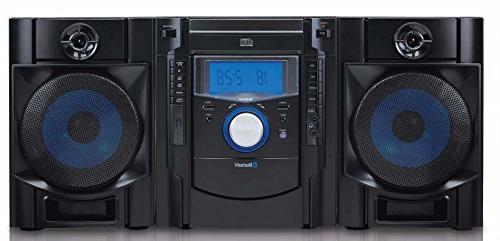 Sylvania SRCD2731BT CD Mini System with Bluetooth & Radio
