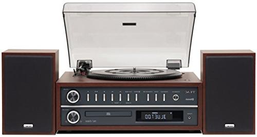 Teac MC-D800-CH All-In-One Turntable Speaker System with Blu