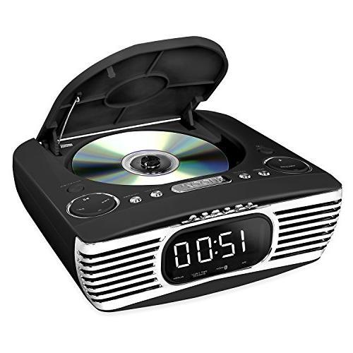 Victrola Bedside Digital Alarm CD and Radio,