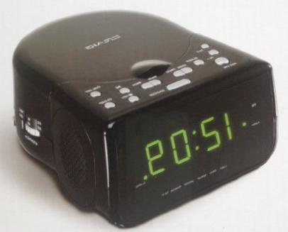 am fm stereo dual alarm