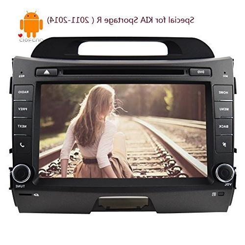 android4 din car stereo touch