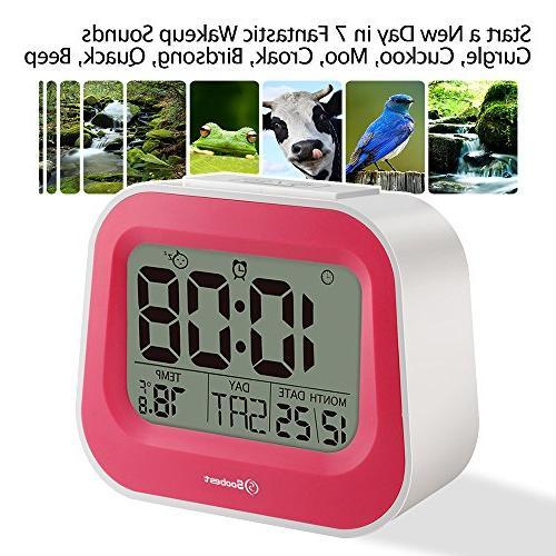 animal sounds electric alarm clock