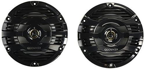black marine speakers