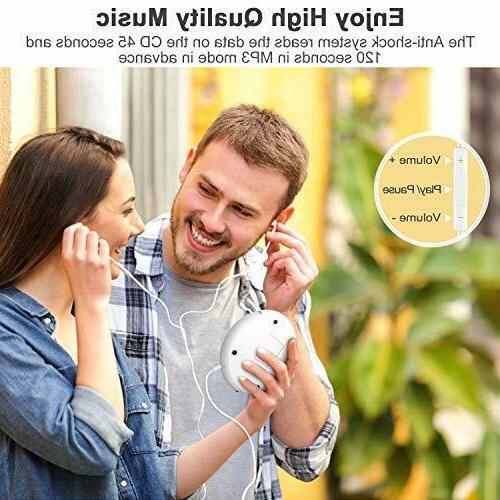 Bluetooth Player with 3.5mm Audio Anti-Skip
