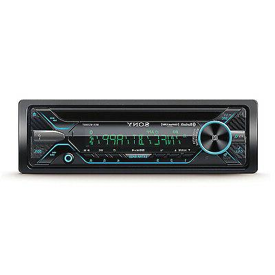 Sony Car Audio Single DIN CD Player Stereo Receiver with Blu