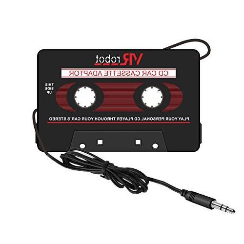 car cassette adapter audio tape