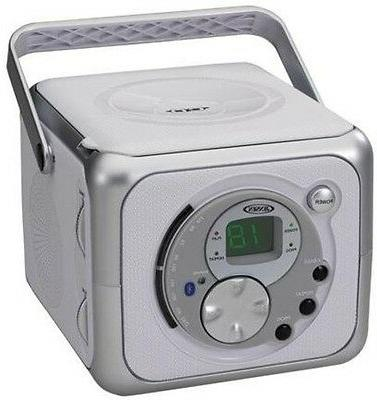 Jensen CD-555 Portable Stereo with CD Player