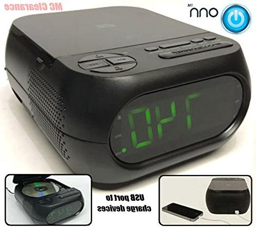 cd am fm alarm clock