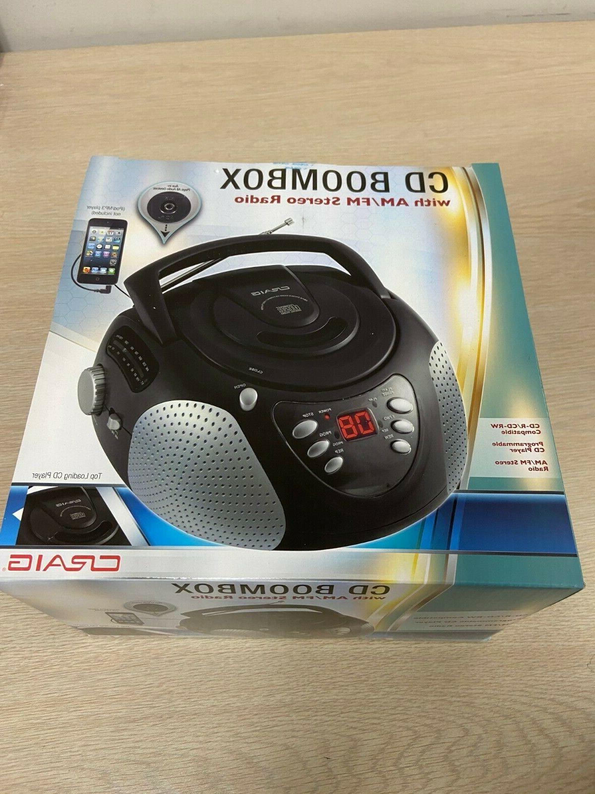 cd boombox radio