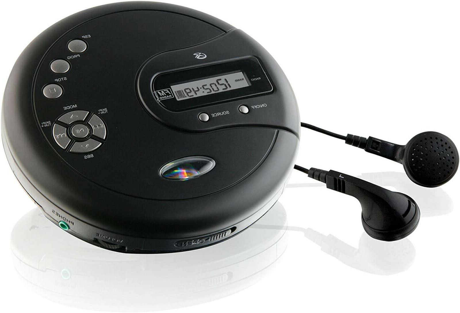CD Disk with Bass Protection Radio