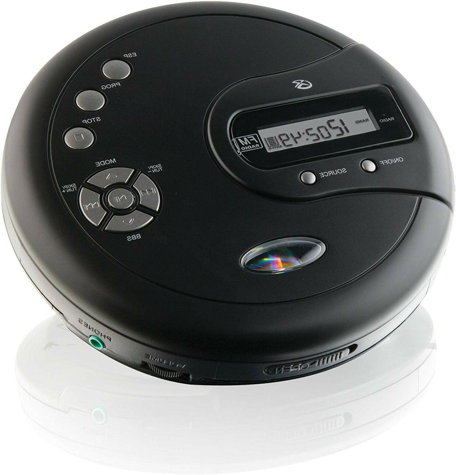CD Disk with Boost Protection Radio Earbuds