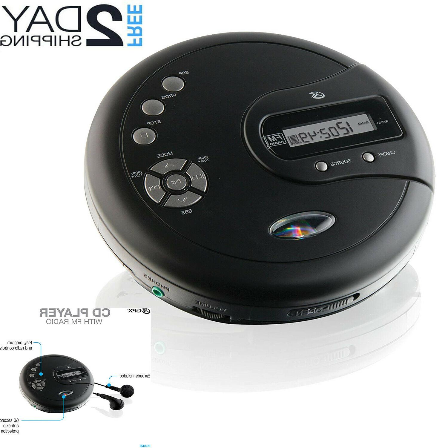 cd disk player portable with bass boost