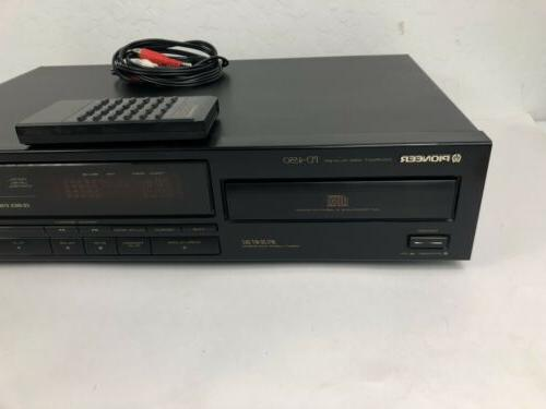 Pioneer CD Disc Vintage With Remote