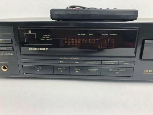 Pioneer Player Single Disc With Remote