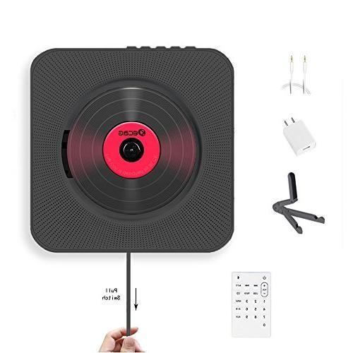cd player wall mountable home