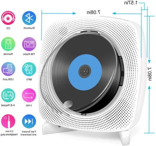 CD with 4.2, USB, Radio, Remote Control, Built-in