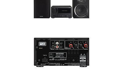 cd receiver system black