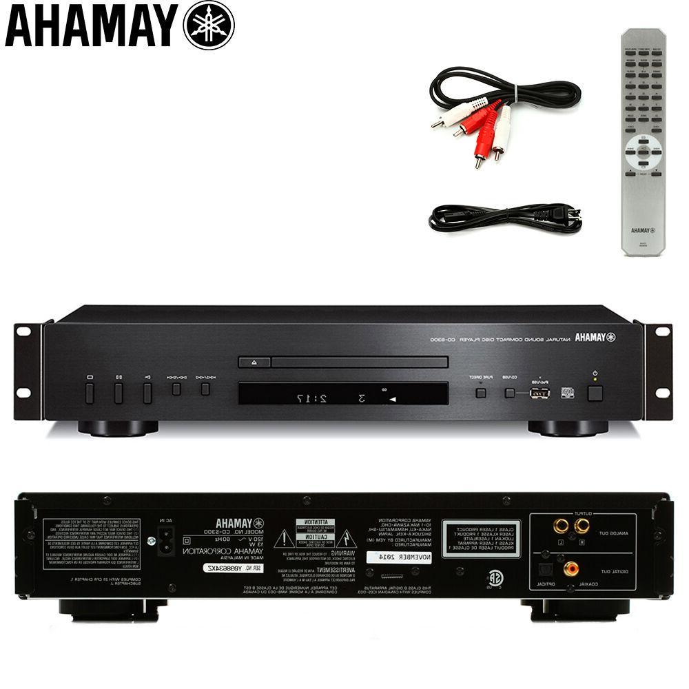 Yamaha CD-S300-RK Rackmount USB CD w/ Control l Dealer